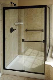 bypass shower door. 3500-44 BASCO SHOWER DOOR 70\u0026quot; HT 40-44\u0026quot; Bypass Shower Door