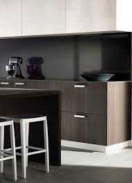 Black Splashback Kitchen Benchtop And Splashback Essatone French Black Upper Storage