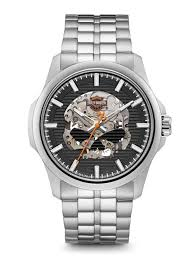 harley davidson men s watches bulova 76a158 harley davidson men s watch