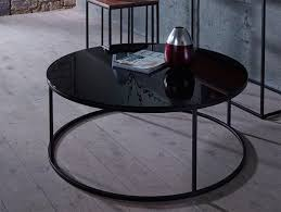 gillmore space contemporary kensal round coffee table in various finishes thumbnail