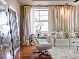 2017 Modern Floor Length Curtains For Minimalist Living Room (Image 1 of 25)