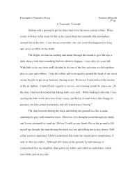 sample personal narrative essays descriptive intelligence cover letter example of narrative essay example of narrative essay nerrative essay descriptive narrative example resume ideas good of an a desert storm