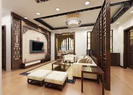 Chinese living room with cool ceiling design ideas modern and wooden floor