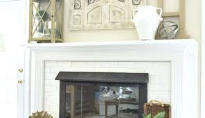 fireplace ideas diy mantel wood surround mantels electric surrounds for shelf cover decor depth brick height