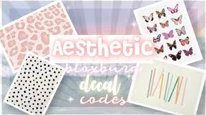 Maybe you would like to learn more about one of these? Aesthetic Cute Decal Codes Bloxburg Alfintech Computer