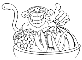 Small Picture Chimpanzee coloring Free Animal coloring pages sheets Chimpanzee