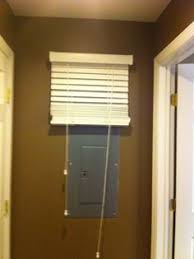 electrical box cover tips around the house pinterest box Covering Fuse Box Ideas pretend it's a window and hide your electrical box! repin by pinterest for Fuse Box vs Breaker Box