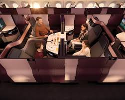 gulf carrier qatar airways will place its new qsuite business cl concept into mercial service later this month just days after unveiling the