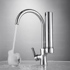 best one handle electroplated faucet water filter for kitchen