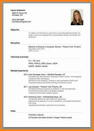 a curriculum vitae format 6 sample of a curriculum vitae for job application model resumed