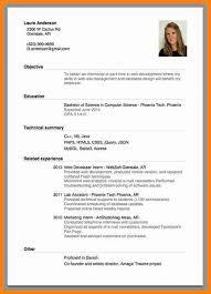 a curriculum vitae format 6 sample of a curriculum vitae for job application model resumed