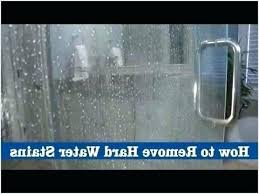 hardwater stains on glass best way to clean glass shower doors with hard water stains best way to clean shower hard water stains glass