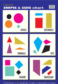 Lantern Books Enlightens Wall Chart Shapes And Sizes