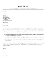 Executive Cover Letter Examples Retail Sales Cover Letter Example