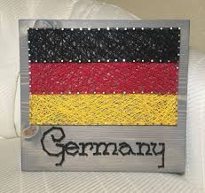 diy string banner inspirational germany flag string art country order from kiwistrings on pics
