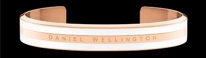 <b>Classic Bracelet Satin White</b> Rose Gold <b>Small</b>