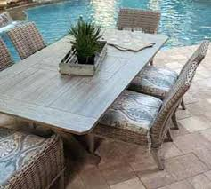 ebel patio furniture faux wood top table ebel patio furniture replacement cushions