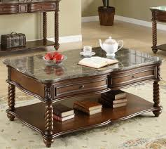 Coffee Table Set Of 3 Homelegance Lockwood 3 Piece Rectangular Coffee Table Set W