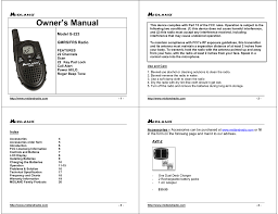 Midland G 223 Owner S Manual Manualzz Com