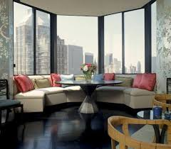 Window Seat Living Room Luxury Living Room Interior Designs With Huge Glass Windows Idea
