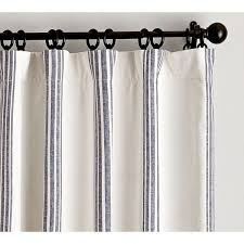 pottery barn riviera stripe d with blackout liner 129 liked on polyvore featuring