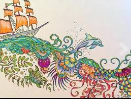 Ocean Coloring Book Lost Ocean Coloring Book Pages Lovely Johanna