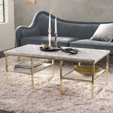 marble coffee table. Isabelle Marble Coffee Table
