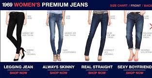 Gap 1969 Jeans Size Chart