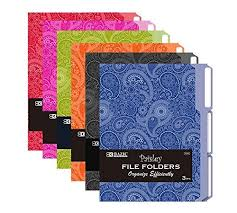 Patterned File Folders