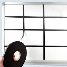 Magnetic Gridlines Inch X 25 Feet For Whiteboard Grids
