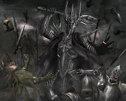 Sauron, Smaug and The Witch King vs Jadis the White Witch, Eustace ...