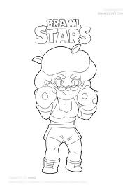 How To Draw Rosa Super Easy Brawl Stars Drawing Tutorial With