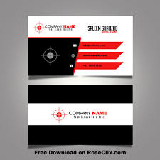 Business Card Templates Adobe Photoshop Visiting Psd Files Free