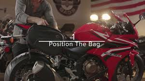 Vikingbags AXE <b>Saddlebags</b> for <b>Sport Bikes</b> Installation - YouTube