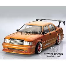 The Build RC 1/10 TOYOTA Crown Taxi PC Transparent 180mm RC Car ...