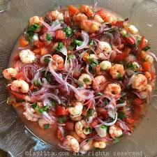 ecuadorian shrimp ceviche ceviche de camarón