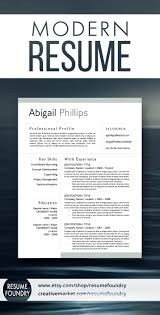 create a modern resume template with word resume tips modern resume template for use with microsoft
