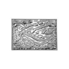buy kartell dune tray metal chrome online  connections at home