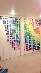 paint swatch wall colorful paint swatch wall paint swatch wall art