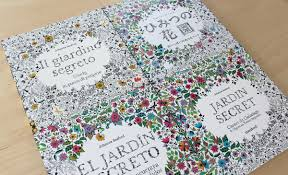 secret garden coloring book by johanna basford published by laurence king