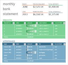 10 Bank Statement Templates – Free Samples , Examples & Format ...
