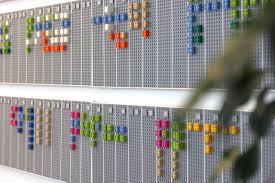 Chart Of Lego Pieces Calendar Made Of Lego Bricks Designs Ideas On Dornob
