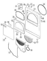 parts for crosley cdew dryer com 03 door parts for crosley dryer cde6000w from com