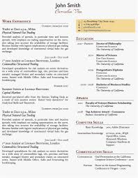How To Write A One Page Resume Template Examples Two Column E Page
