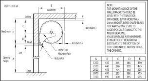 series a roller door installation picture taurean door systems 1