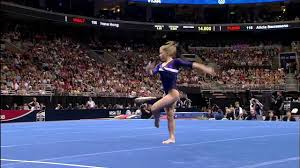 Image Floor Routine Youtube Premium Youtube Shawn Johnson Floor Exercise 2008 Olympic Trials Day Youtube