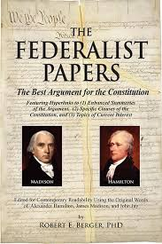 the federalist papers and the control of bureaucratic the federalist
