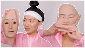 I BOUGHT A NEW <b>FACE</b>... again? <b>Silicone Face</b> Mask! - YouTube