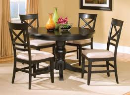 black dining room set round. Small Black Kitchen Table And Chairs Ocvalamos Great Dining Room Set Round