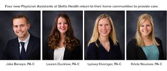 Stellis Health My Chart Stellis Healths New Physician Assistants Return Home To
